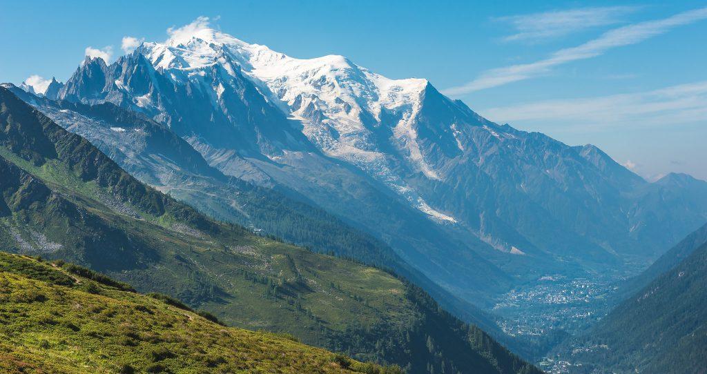 Hoogste bergen van Europa